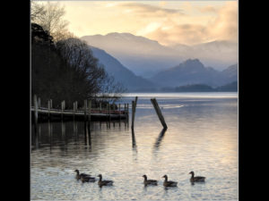 Derwentwater Morning, by Dave Bibby