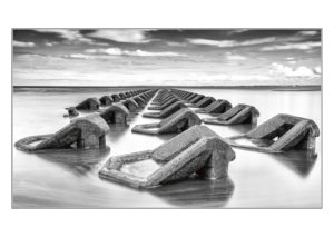 The Groynes New Brighton, by Barbara Clayton