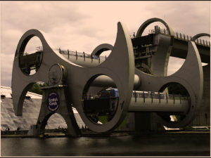Falkirk Wheel, by Jeanie King