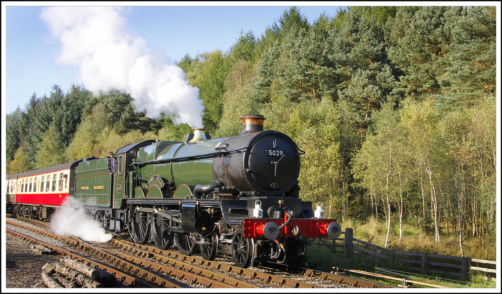 North Yorkshire Moors Railway, by Peter Hornblower