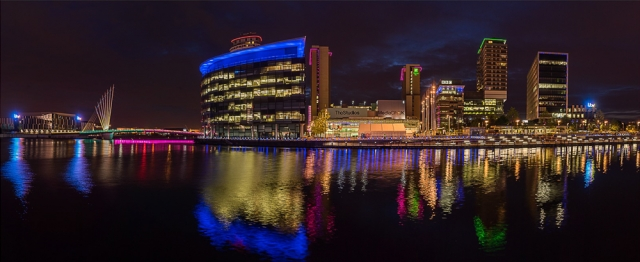 Media City Salford, by Barbara Clayton