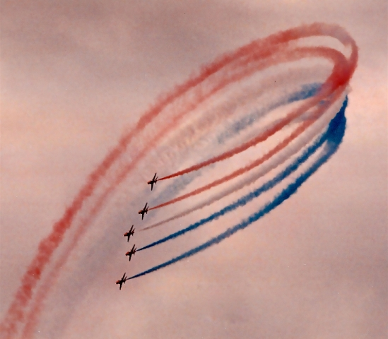 Red Arrows, Final Flourish, by Glenn O'Brien