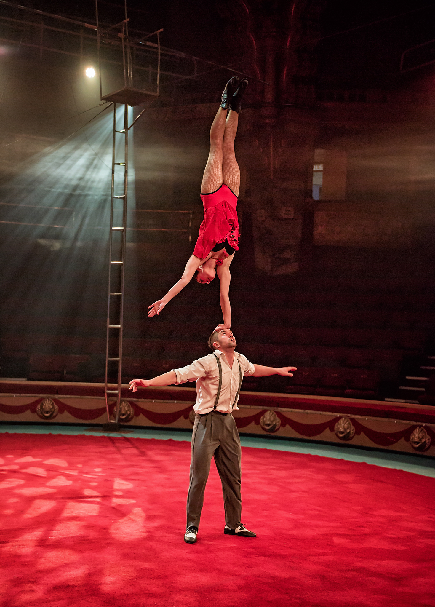 Blackpool Tower Circus by Angela Carr