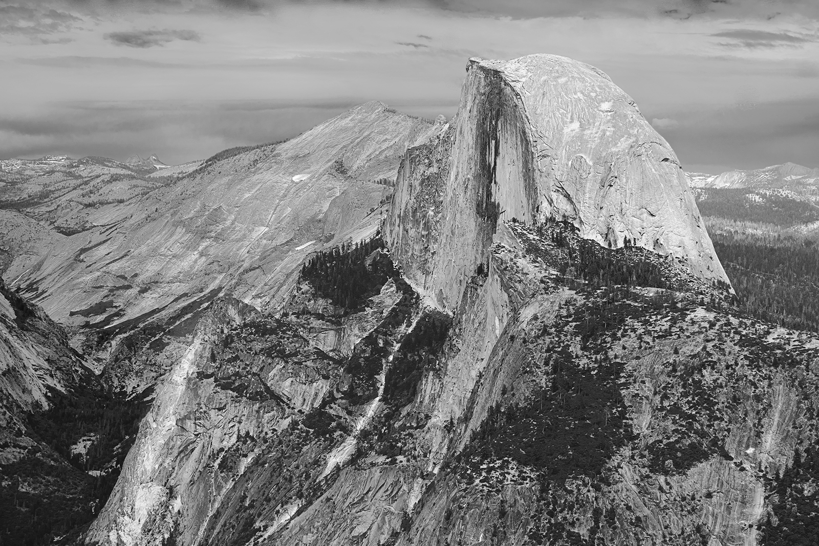 Half Dome Yosemite, by Barbara Clayton