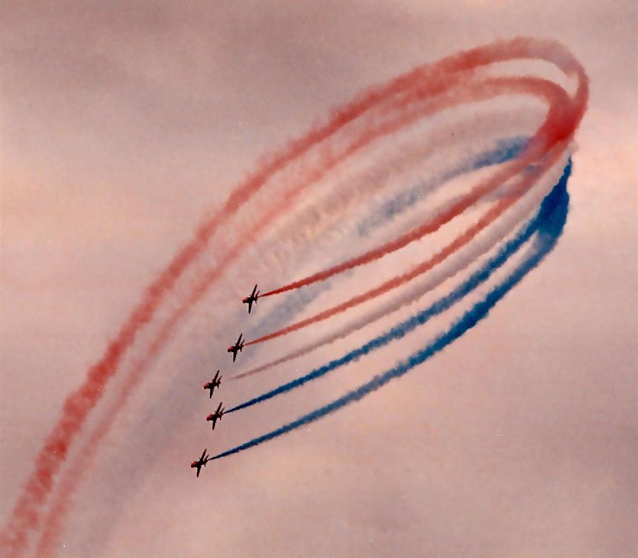 Red Arrows, Final Flourish, by Glenn O'Brien