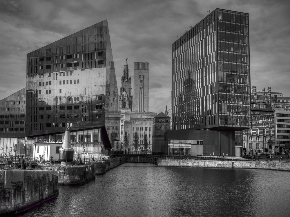 Buildings & Reflections, by Janet Coulson