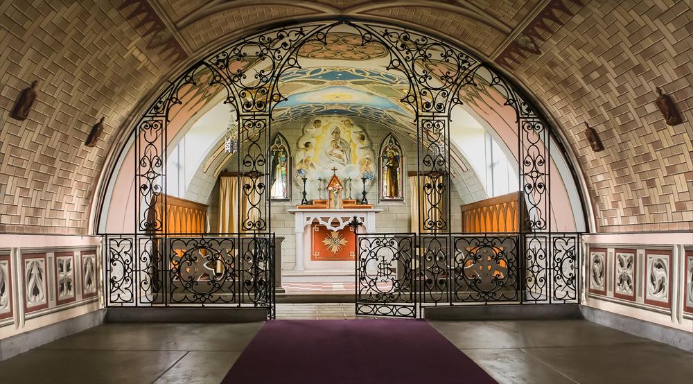 Italian Chapel Orkney, by Jeanie King