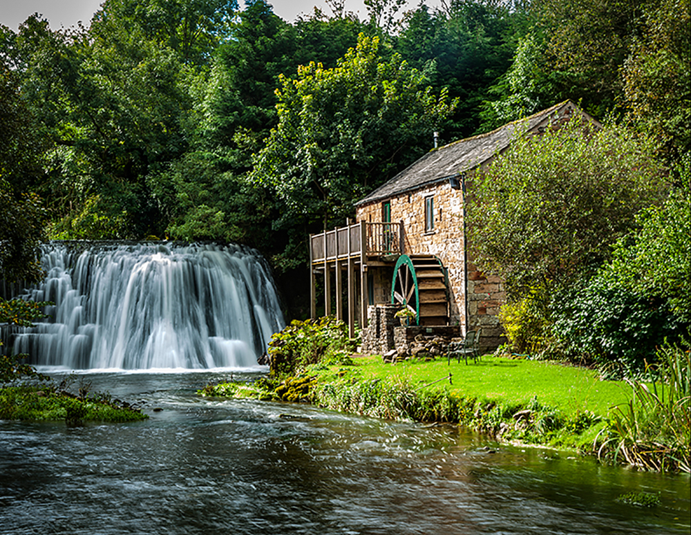 Water Wheel, by Kevin Simpson