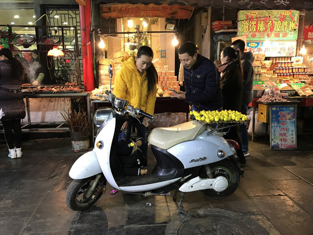 Xian Nighttime Street Market, Nicki Greenwood