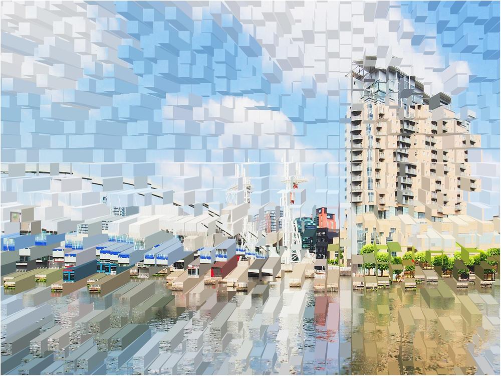 Media City, by Paul Twambley
