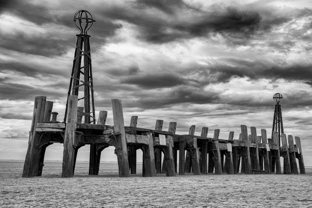 At the End of the Pier, by Rachel Wilson