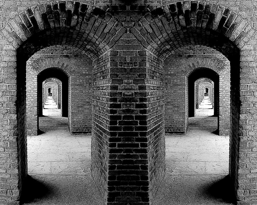 Fort Under Battlement, by Wayne Paulo