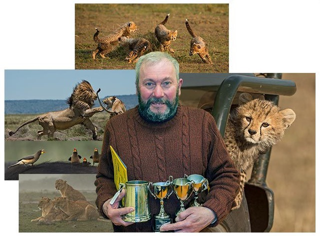 Ian Whiston, his images and awards