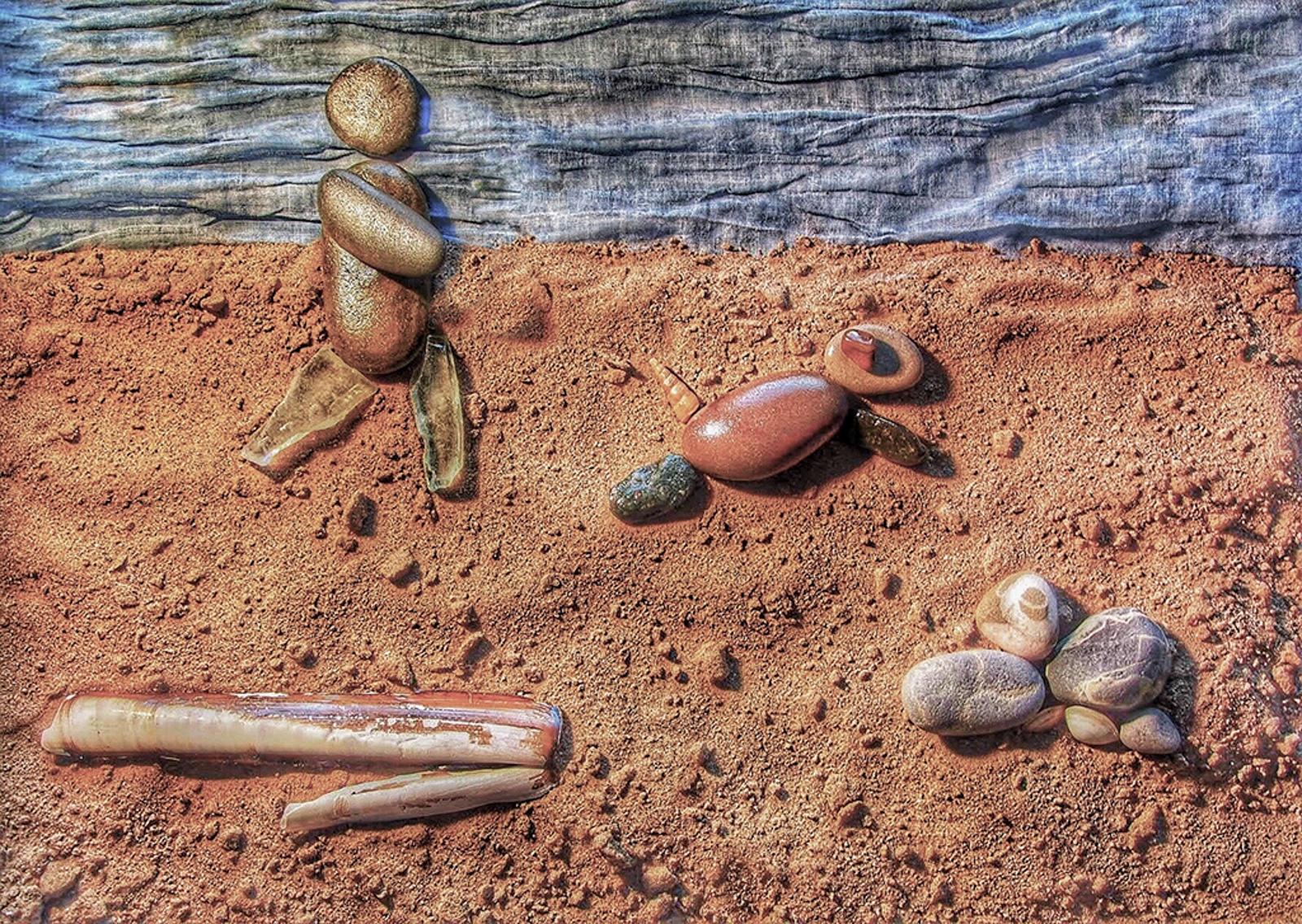 Beach Walkies, by Nicki Greenwood