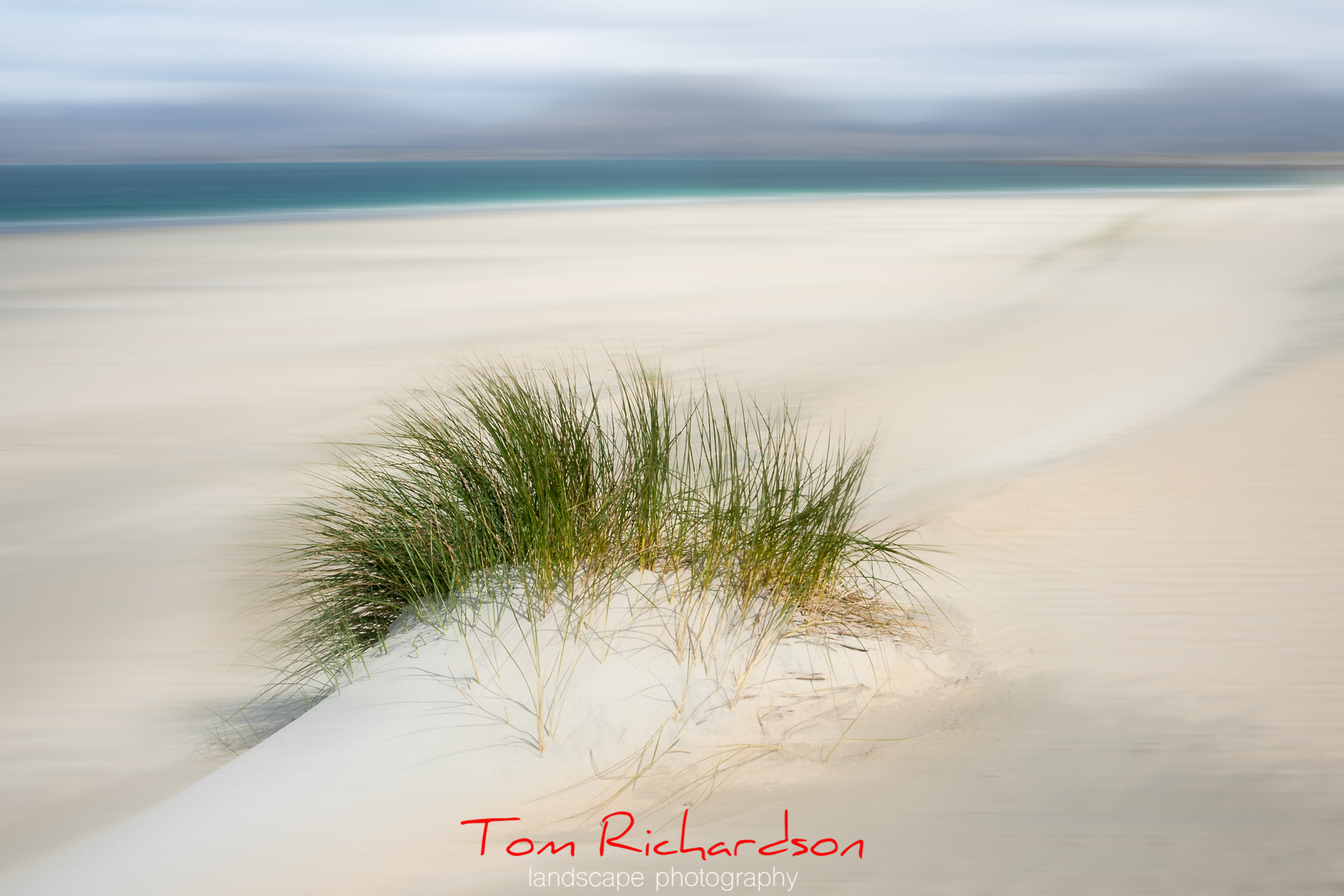 Luskentyre Beach Harris by Tom Richardson